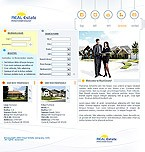webdesign : estate, rentals, broker