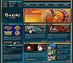 webdesign : luck, winning, baccarat