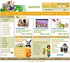 webdesign : bunny, baskets, decoration