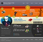 webdesign : club, classes, tango