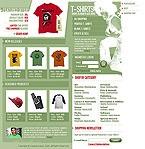 webdesign : t-shirts, style, showcase