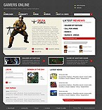 webdesign : members, play, gamer