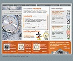 webdesign : watches, Swiss, Omega