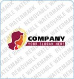 webdesign : logo, woman, head