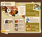 webdesign : restaurant, dinner, reservation