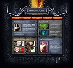 webdesign : gothic, interests, hobby