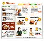 webdesign : meal, flavor, bonuses