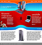webdesign : laptop, office, linux