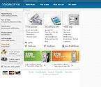 webdesign : online, shopping, display