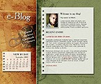 webdesign : blog, guestbook, journal
