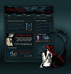 webdesign : gothic, actions, gallery