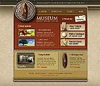 webdesign : museums, travel, excavation