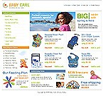 webdesign : shop, baby, mom