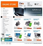 webdesign : shop, technology, accessory