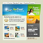 webdesign : flight, impression, tourist