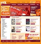 webdesign : store, book, buy
