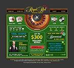 webdesign : luck, success, roulette