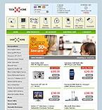 webdesign : shop, broadband, tech