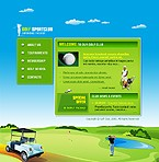 webdesign : golf, entertainment, golf-clubs