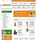 webdesign : toys, roadster, delivery