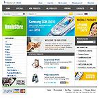 webdesign : dealer, cart, Samsung