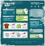 webdesign : footwear, prices, dress
