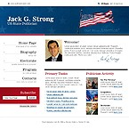 webdesign : electorate, program, flag