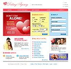 webdesign : dating, happiness, sweetheart