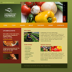 webdesign : farmer, food, bean