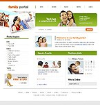 webdesign : portal, harmony, youth