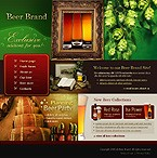 webdesign : beer, specials, collection