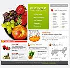 webdesign : pear, orange, water-melon