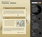 webdesign : page, hobby, journal