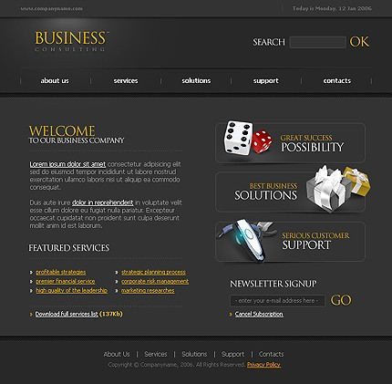 webdesign : Big, Screenshot 10854