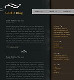 webdesign : Gothic, discussion, blogroll