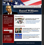 webdesign : politician, victory, safety
