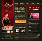 webdesign : casino, roulette, baccarat