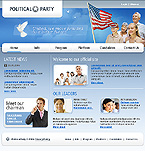 webdesign : election, Liberal, Democratic