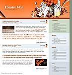 webdesign : site, entertainment, actor