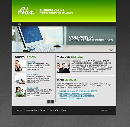 webdesign : Big, Screenshot 11288