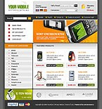 webdesign : shop, phones, Samsung