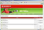 webdesign : matches, players, fans