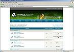 webdesign : league, schedule, fan