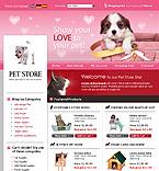 webdesign : puppy, staff, dishes