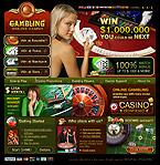 webdesign : casino, roulette, cash