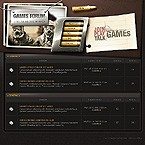 webdesign : gamers, play, graphics