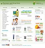 webdesign : online, care, cosmetics