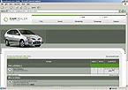 webdesign : race, road, BMW