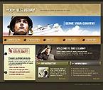 webdesign : navy, recruits, guns