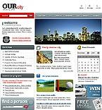 webdesign : municipally, tourism, searching